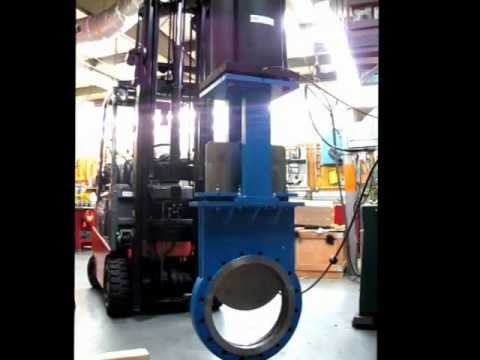 Valtorc Series Knife Gate Valves - 18 Inch Automated