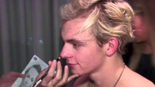 Ross Lynch Sitting with Interviewx