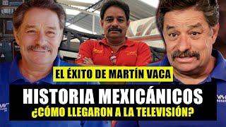 ¿Cómo llegó Martín Vaca de Mexicánicos a la televisión? / Historia Martín Vaca