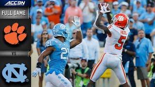 Clemson vs. North Carolina Full Game | 2019 ACC Football