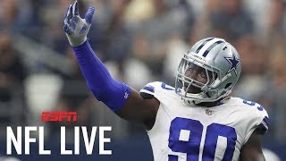 Cowboys place franchise tag on DeMarcus Lawrence | NFL Live | ESPN