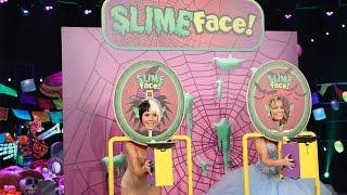 Heidi Klum and Beth Behrs Play Slime Face!