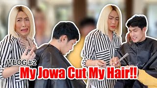 VLOG #2 - My Jowa Cut My Hair!