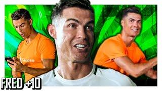 Top 10 - Cristiano Ronaldo passando vergonha