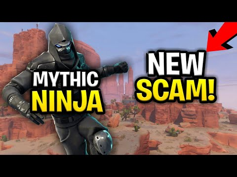 *NEW SCAM* The Mythic Ninja Ability SCAM! (Scammer Get Scammed) Fortnite Save The World