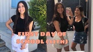 Last First Day of High School GRWM + VLOG