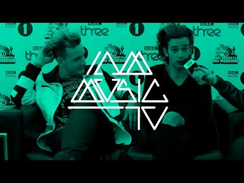 The 1975 Interview @ BBC Radio 1's Big Weekend 2014 ::: Carly Wilford