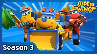 Treehouse Trouble | super wings season 3 | EP02