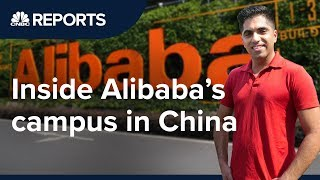 We went inside Alibaba's global headquarters   CNBC Reports