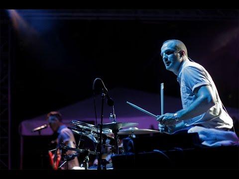 Drum badass Darren King & Mutemath perform