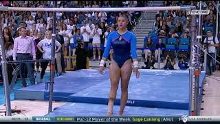 Kyla Ross 2018 Bars vs Utah 9.875