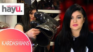 Kylie Throws Away Kris's Clothes | Season 8 | Keeping Up With The Kardashians