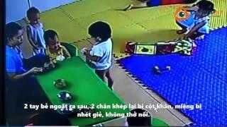 Camera quan sát quay lại cảnh bạo hành trẻ em ở Quảng Bình