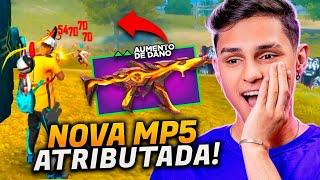 CODIGUIN DA NOVA MP5 DO FREE FIRE!!