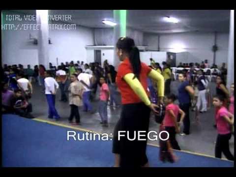 Rutina FUEGO Panderos
