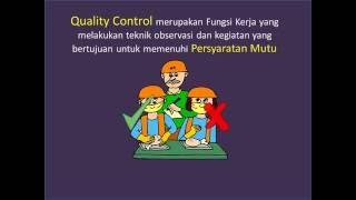 Quality Control - Quality Assurance