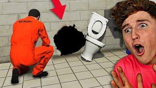 Can You Escape PRISON In GTA 5?! (GTA 5 Mods)