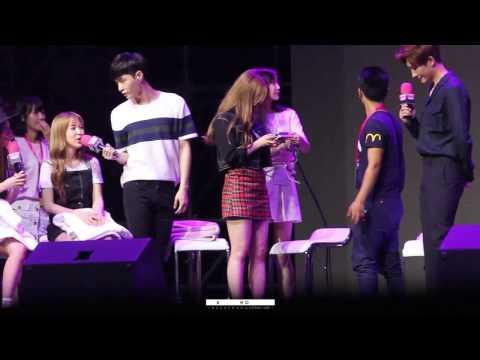 EXO Lay & Red Velvet Wendy Moment cut