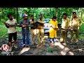 14 Feet Python Rescued by Forest Dept In Nagaon Assam   V6 Telugu News
