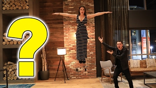 HOW TO FLOAT IN MID AIR! (LEVITATE)