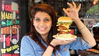 Best Garlic Bread and Dirty Burger in Delhi |Uncle Shop