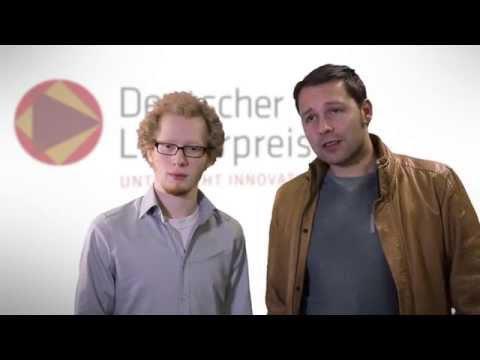 Lehrerpreis 2015: Preisträger Patrick Hehmann mit Niklas Oberhoff im Interview