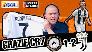 Udinese-Juventus 1-2 con Valerio Pavesi IMPAZZITO al gol di #CR7
