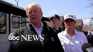 Trump calls Hurricane Michael aftermath 'total devastation'