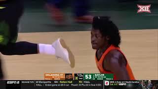 Oklahoma State vs Baylor Men's Basketball Highlights