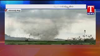 Tornado witnessed in Telangana, Video goes viral..