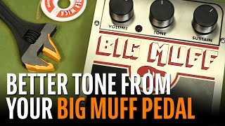Watch the Trade Secrets Video, Big Muff Pi tone bypass - quick mod gets the midrange back