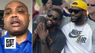 Kyrie had his best years with LeBron, can't be the No. 1 guy on a team – Charles Barkley | Get Up!