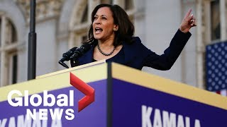 Kamala Harris holds first rally as 2020 presidential candidate