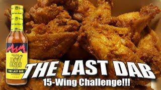 THE LAST DAB WING CHALLENGE #FirstWeFeast│PEPPER X - WORLD'S HOTTEST?