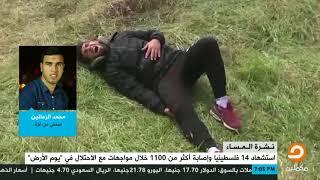 الصحفي من غزة محمد الزعانين يرصد أهم أحداث فعاليات العودة الكبرى على ...