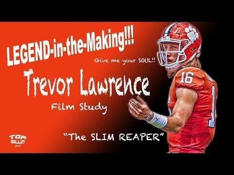 Clemson: Future LEGEND Trevor Lawrence unFREAKINGreal!!!