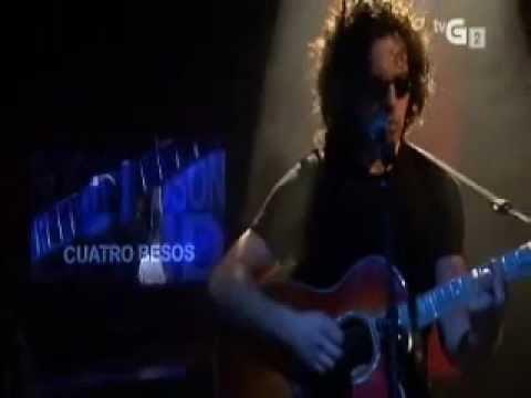 Alfredo Padilla - Cuatro Besos At Live in the Spanish TV