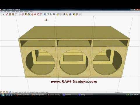 Ram designs sundown audio sa 15 ported box design phim for L ported sub box design
