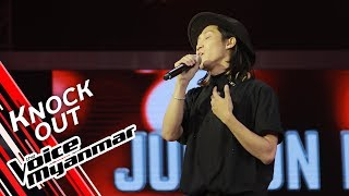 Judson Fish: This Love (Maroon 5)   Knock Out - The Voice Myanmar 2019