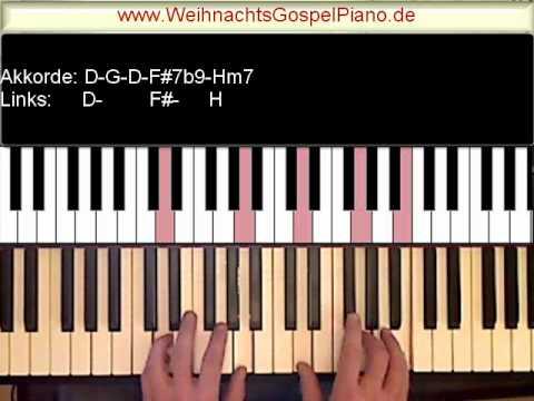 weihnachtslieder am klavier spielen youtube. Black Bedroom Furniture Sets. Home Design Ideas