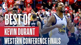 Best Of Kevin Durant From The Western Conference Finals
