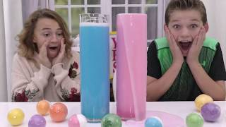 MYSTERY TOYS IN BATH BOMBS REVEAL | We Are The Davises