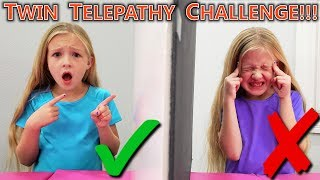 Twin Telepathy Challenge! Are We Really Twins?