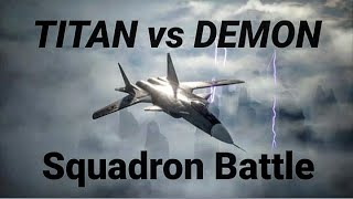 Ace Combat 7: TITAN vs Demon Squadron