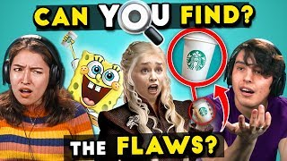 10 TV And Movie Mistakes You Won't Believe You Missed   Find The Flaws
