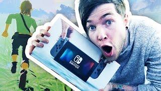 I'VE GOT A NINTENDO SWITCH!!! (Zelda: Breath of the Wild Gameplay)