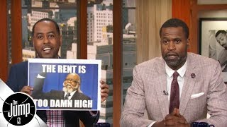 Amin Elhassan on Jimmy Butler asking price: 'The rent is too damn high' | The Jump | ESPN