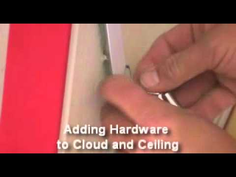 How to Install AcoustiClouds: Custom Made Hanging Acoustic Panels