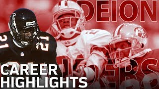 Deion Sanders Primetime Career Highlights | NFL Vault