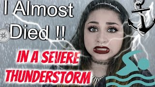 STORYTIME! STRANDED : I ALMOST DIED IN A THUNDERSTORM! | BeautyByJosieK